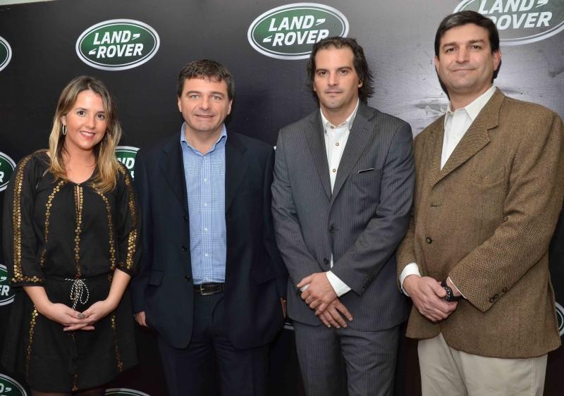 De British House Agustina Michelis, Alejandro Hounie, Nicolás Gibelli, Tomás Castelli
