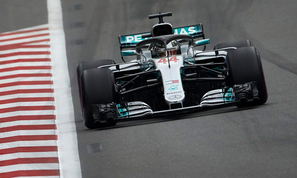 Fórmula 1: Lewis Hamilton le dio a Mercedes la pole N°100