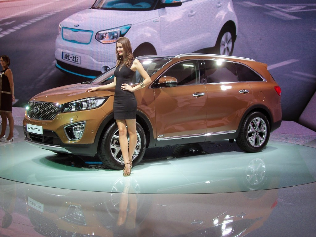 kia sorento salon de paris