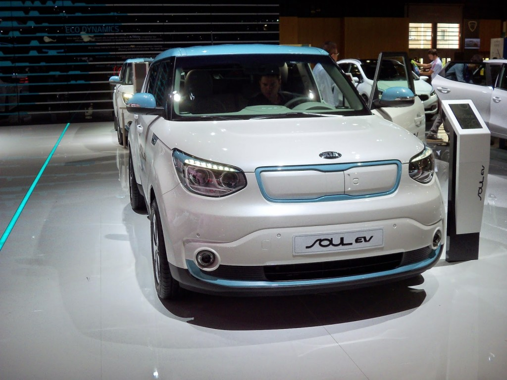 kia soul ev salon de paris