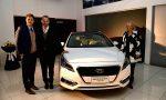 Hyundai Fidocar presentó al Sonata Híbrido