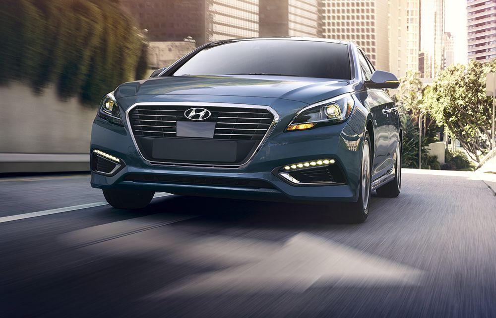 Hyundai Sonata Híbrido 2016