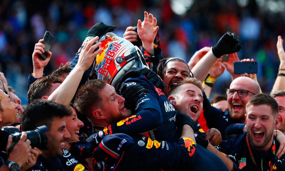 Verstappen ganó en San Pablo - motorsports.com.uy